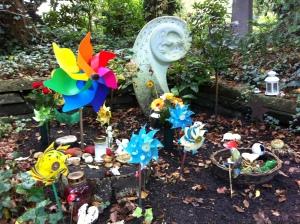 Grabstätte für still geborene Kinder