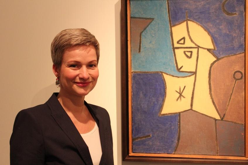 Kuratorin Dr. Karin Schick