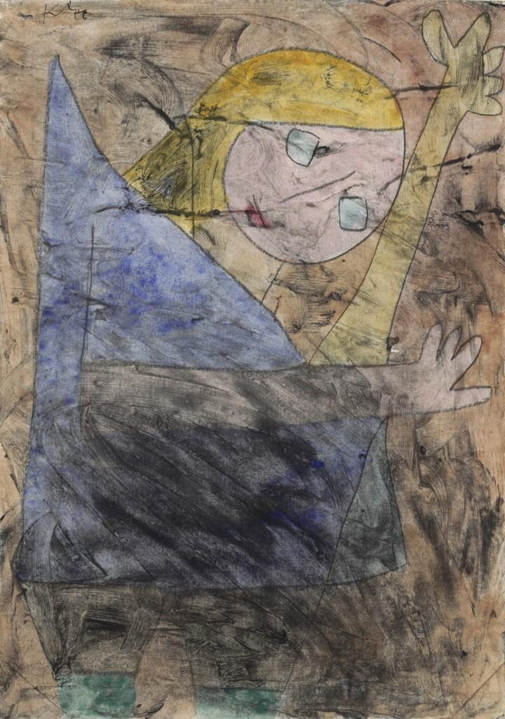 Engel, noch tastend © Zentrum Paul Klee, Bern